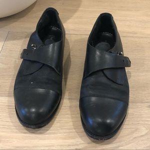 Rag & Bone Black Leather Shoes (Size 36)